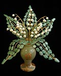 Букет цветов из камня - Ажурный