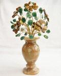Букет цветов из камня - Лесная сказка