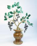 Букет цветов из камня - Черная Смородина