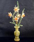 Букет цветов из камня - Розовые нарциссы