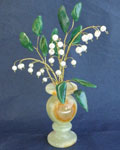 Букет цветов из камня - Ландыши