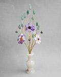 Букет цветов из камня - Букет для Водолея